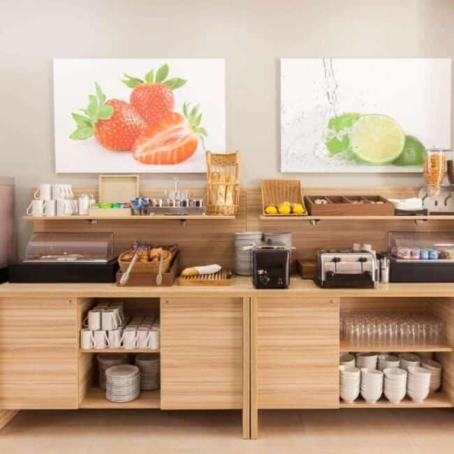 Best hotels in Nancy aparthotel breakfast