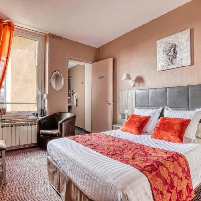 Best hotels in Nancy citotel bed