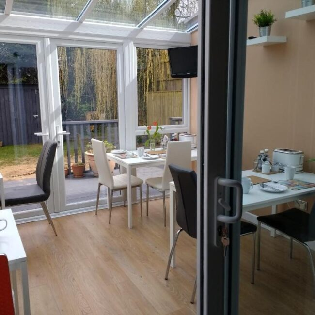 best bed and breakfast new forest bentleys dining