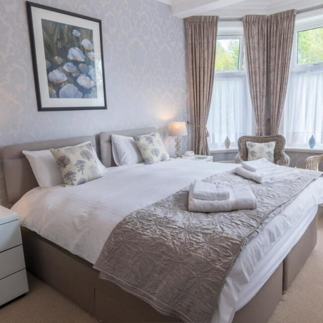 best bed and breakfast new forest forest park guesthouse bedroom