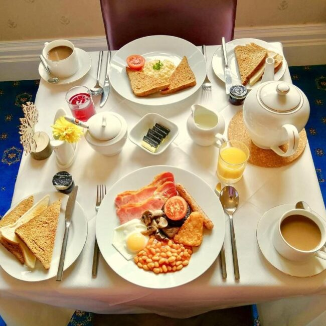 best bed and breakfast new forest forest park guesthouse breakfast