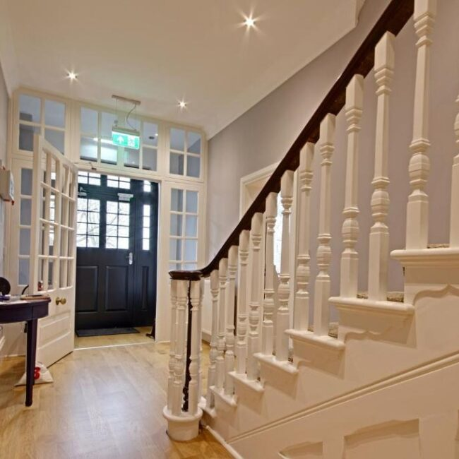 best bed and breakfast new forest highfield hallway