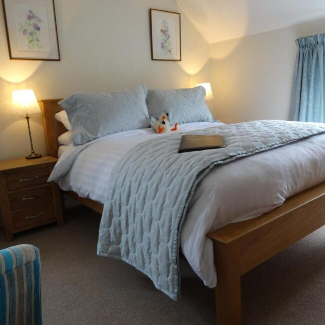 best bed and breakfast new forest hunters croft bed
