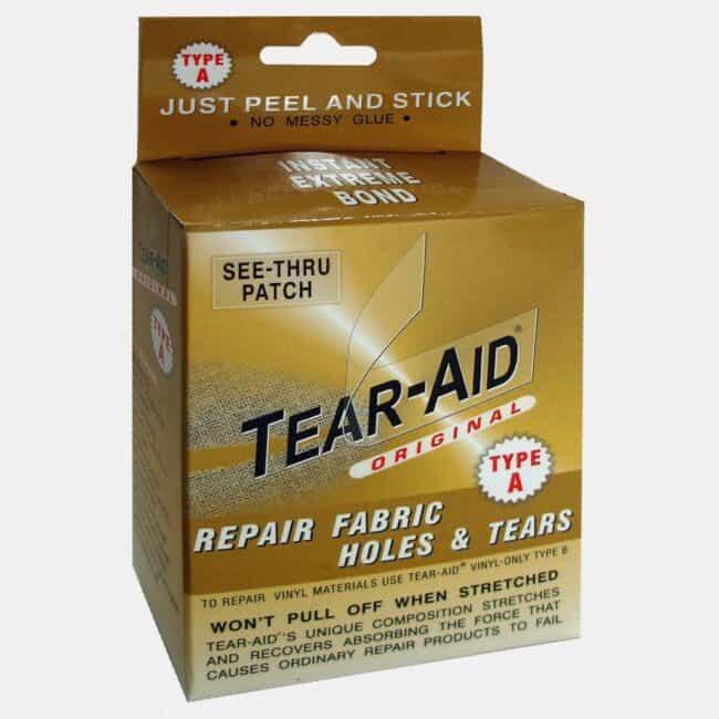 best camping gear tear-aid