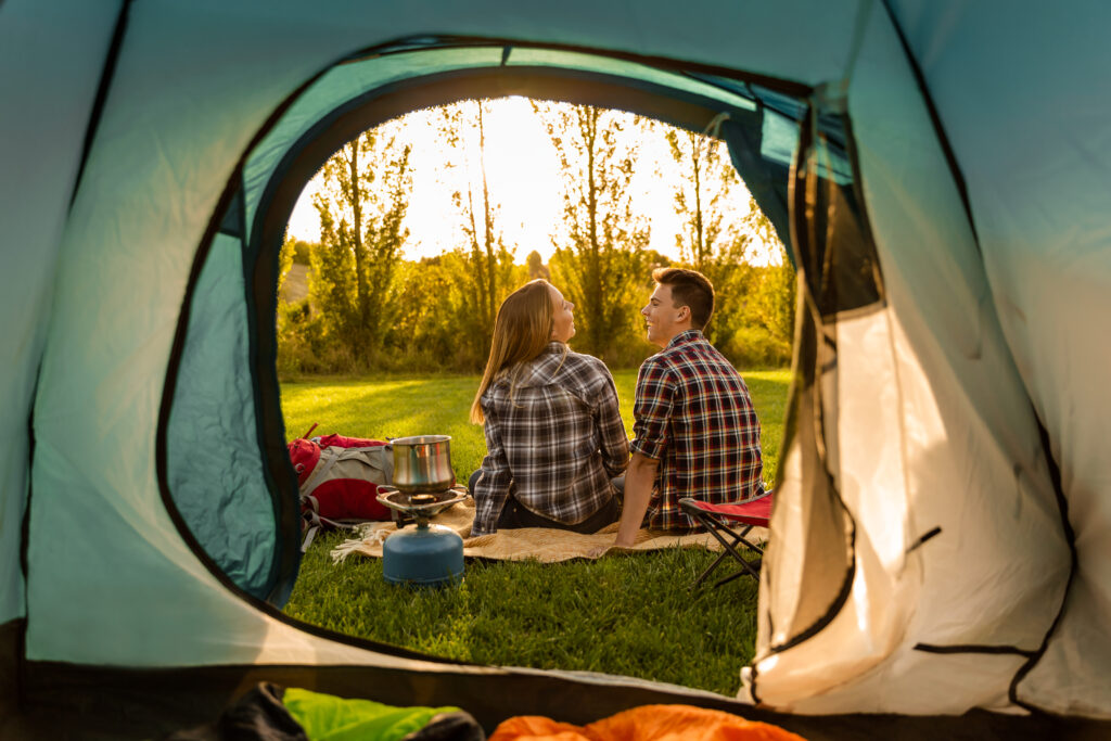 best camping hampshire dots