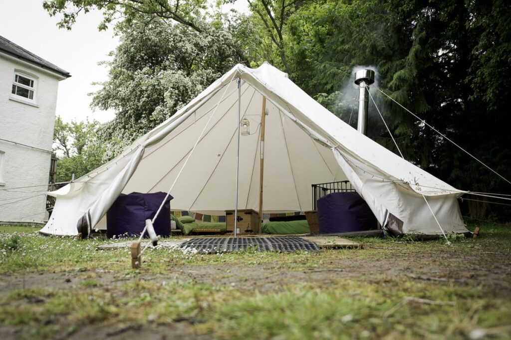 best hampshire camping sites YHA New Forest
