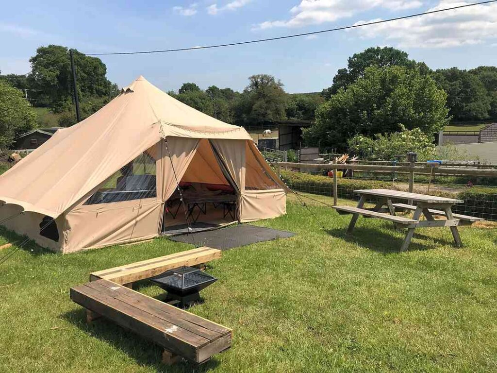best hampshire camping sites chapelfield