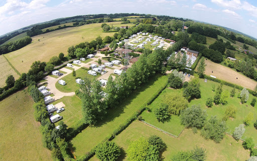 best hampshire camping sites hill farm