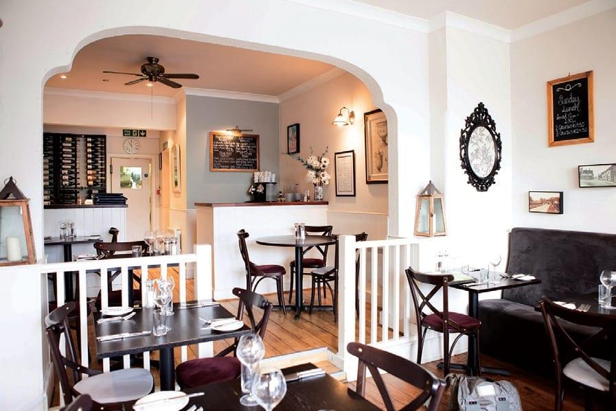best restaurants milford on sea La Perle