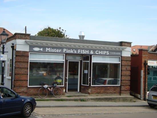 best restaurants milford on sea Mr Pinks