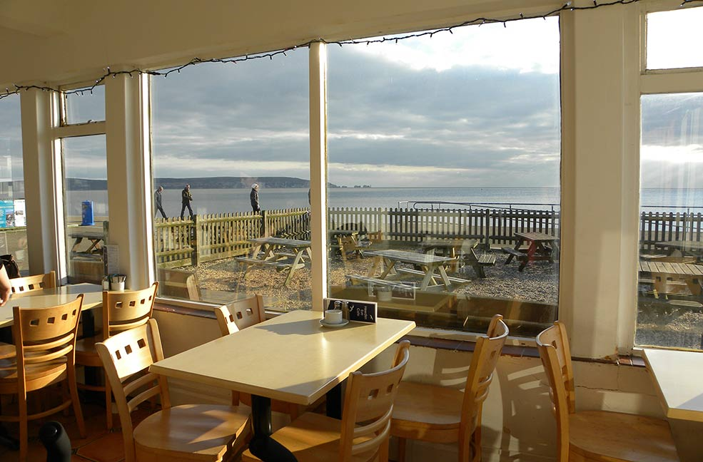 best restaurants milford on sea Needles Eye