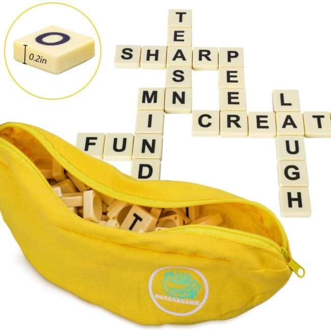 camping accessories bananagrams