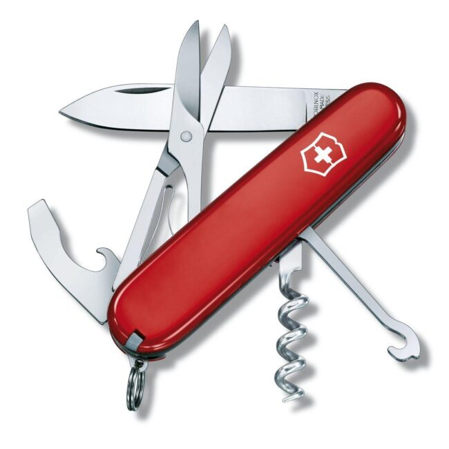 camping accessories swiss army knife