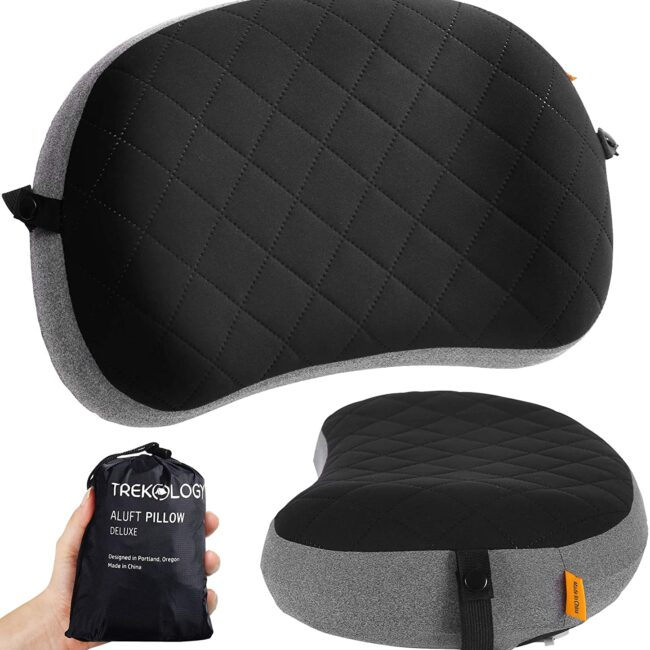 camping essentials camping pillow