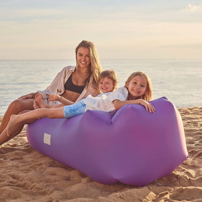 camping essentials inflatable lounger