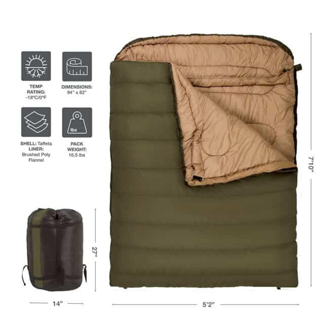 camping essentials sleeping bag