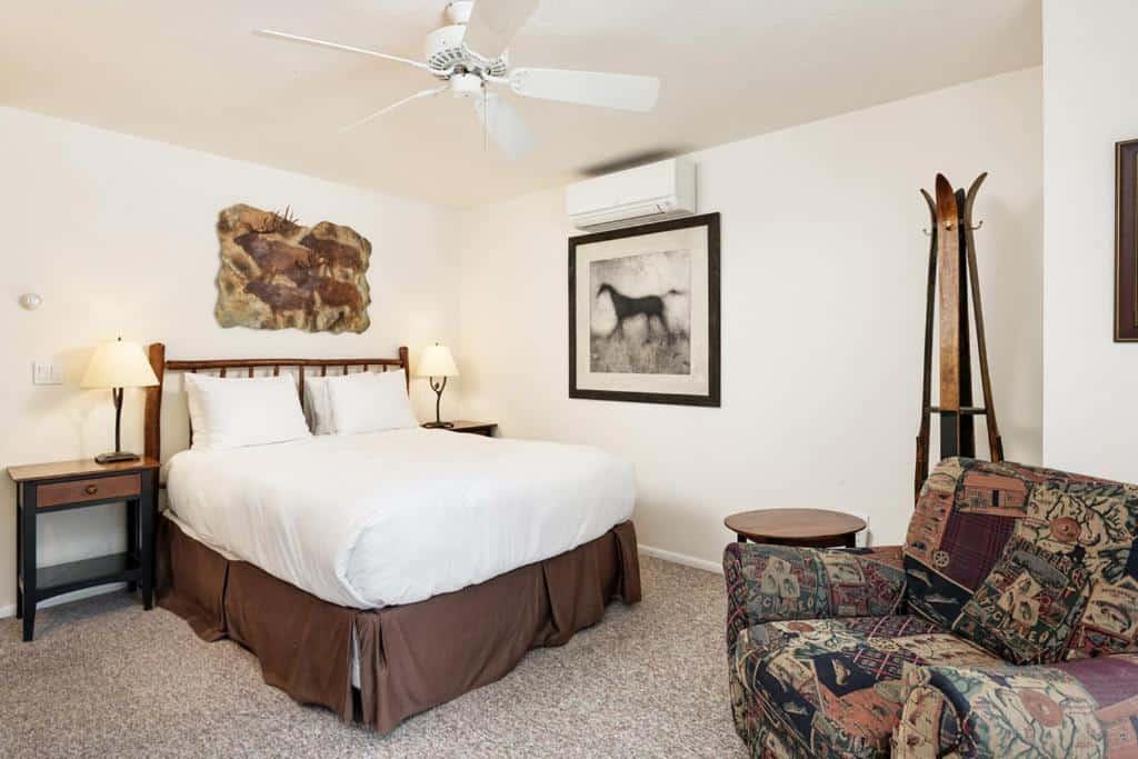 best cabins aspen modern condo bed