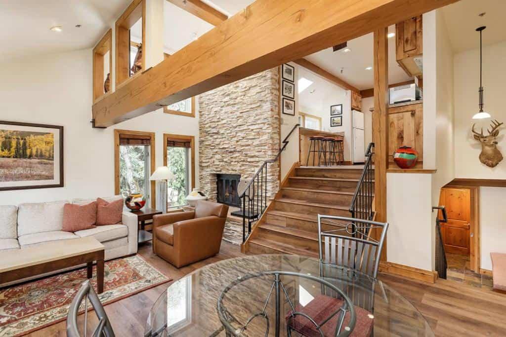 best cabins aspen three level holiday rental