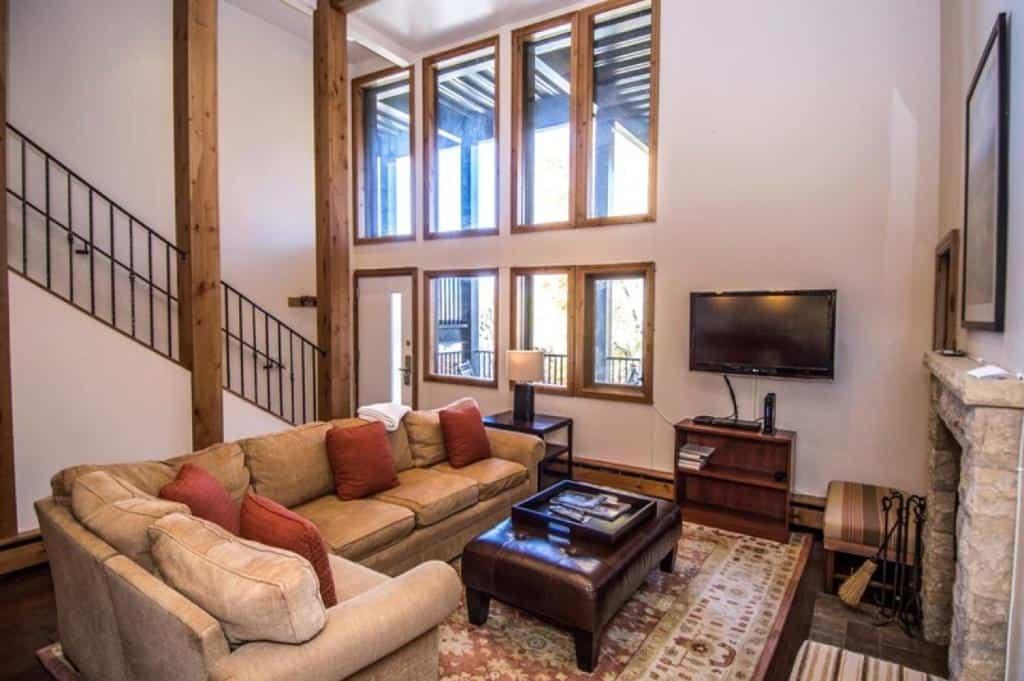 best cabins aspen three level loft