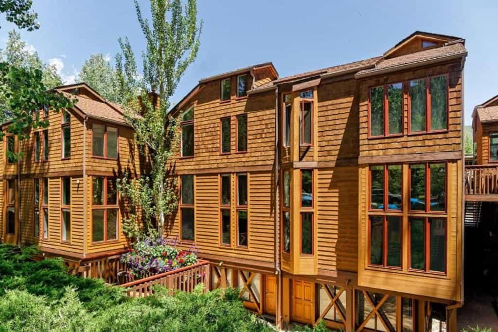 best cabins aspen townhouse outside