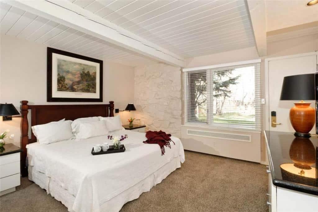 best cabins aspen two bed condo bedroom