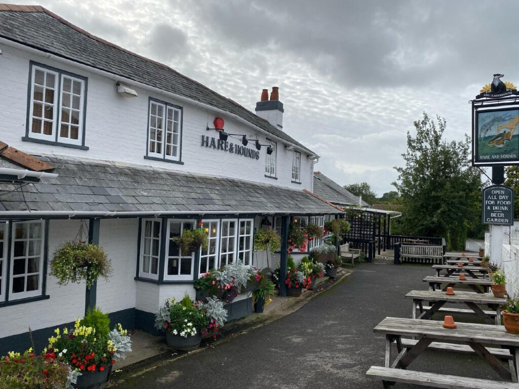 best pubs new forest burley hare and hounds pub