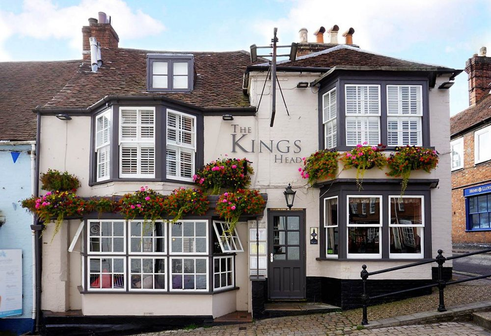 best pubs new forest lymington the kings head