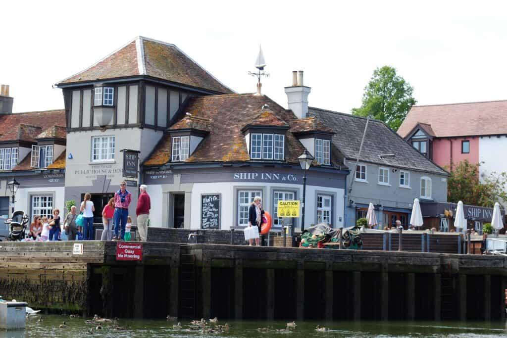 best pubs new forest lymington the ship inn