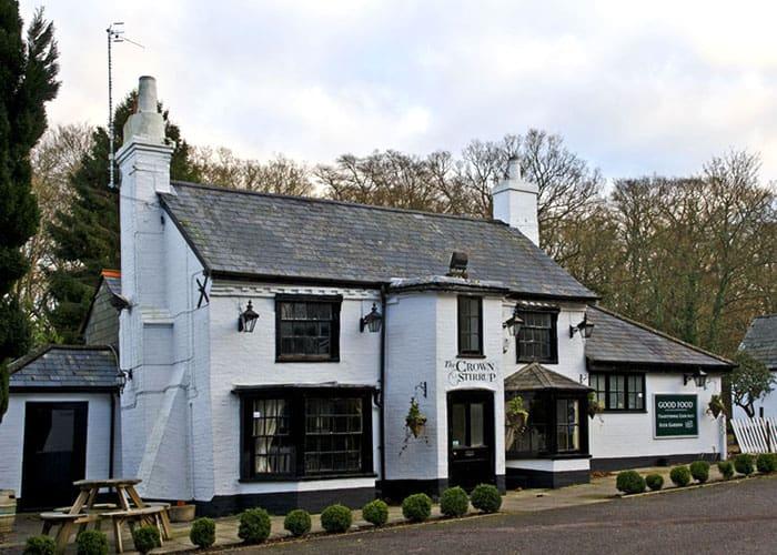 best pubs new forest lyndhurst crown stirrup