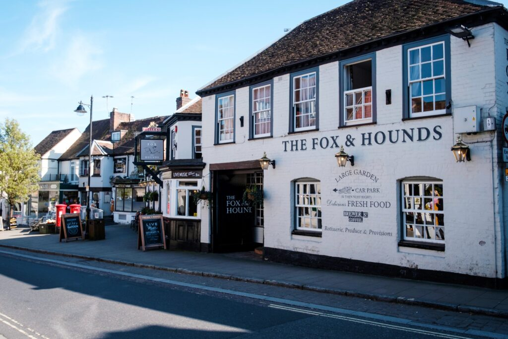 best pubs new forest lyndhurst fox and hounds