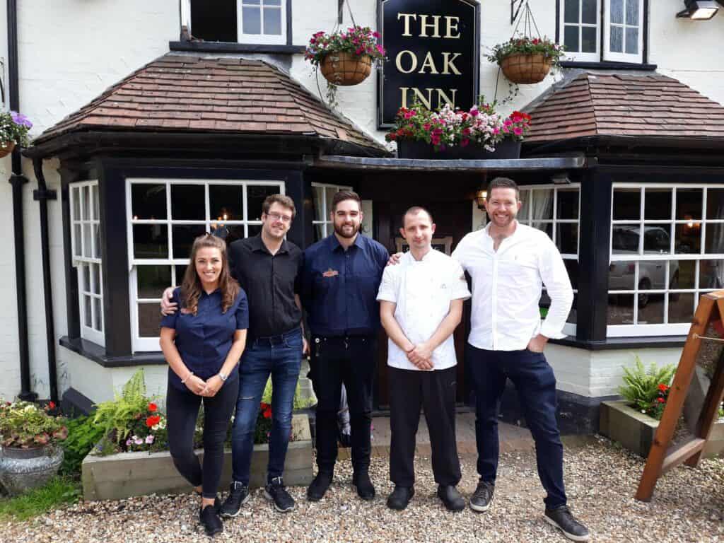 best pubs new forest lyndhurst oak inn