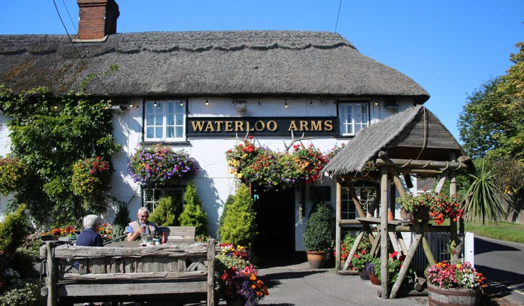 best pubs new forest lyndhurst waterloo arms