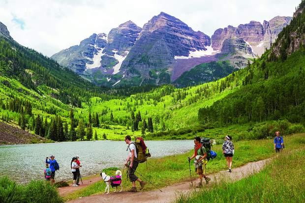 best things to do in Aspen crater lake