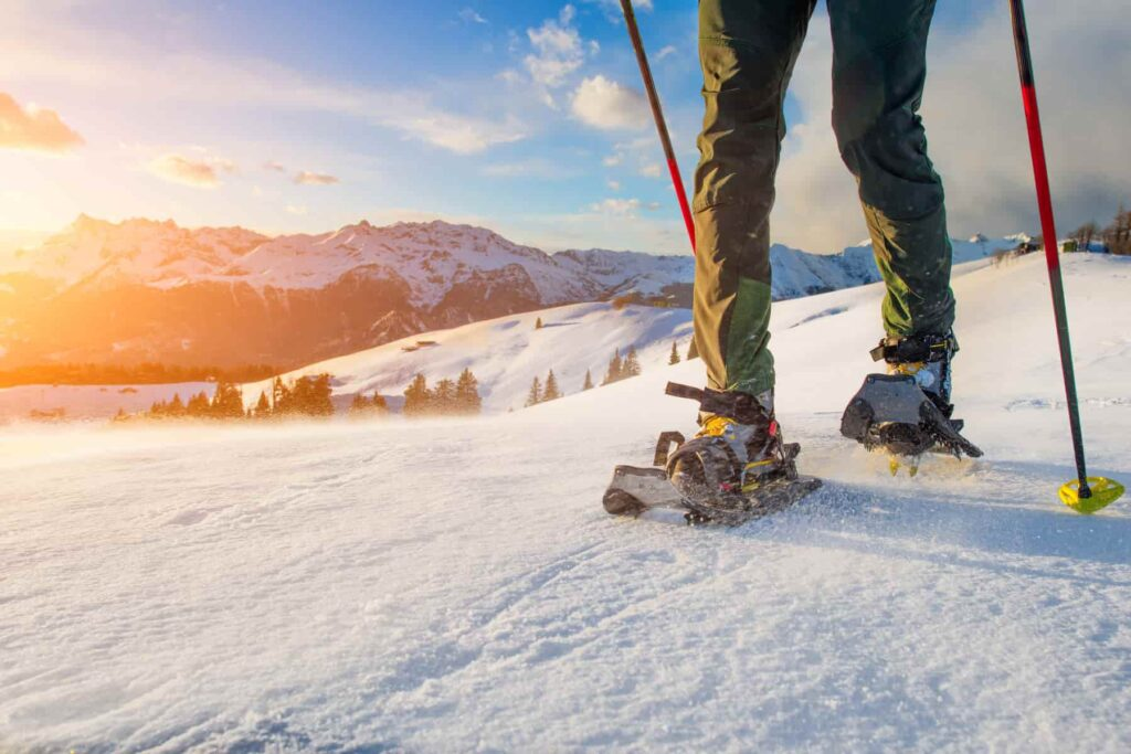 best things to do in Aspen snowshoeing