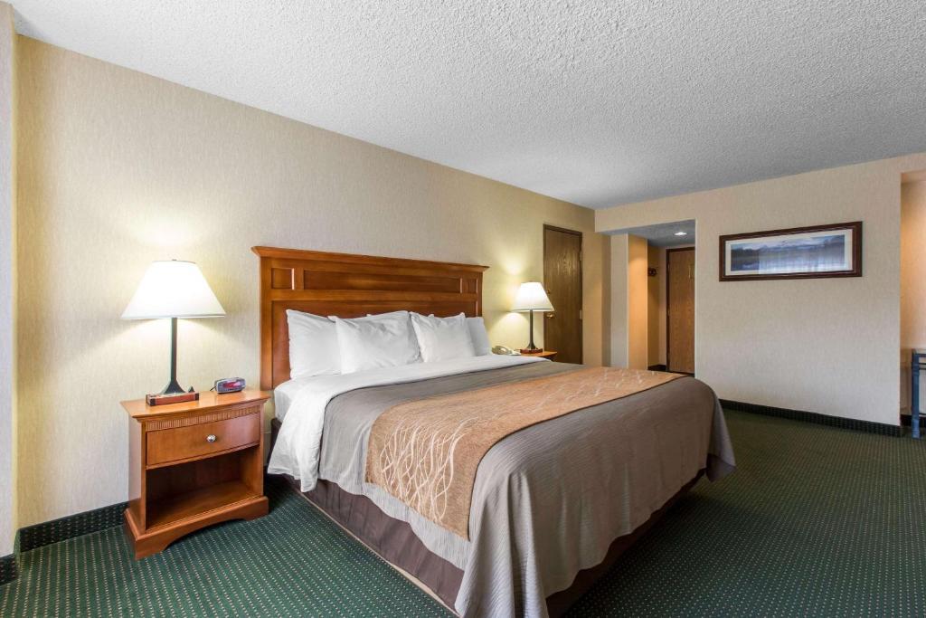Best Beaver Creek Hotels Comfort Inn bedroom