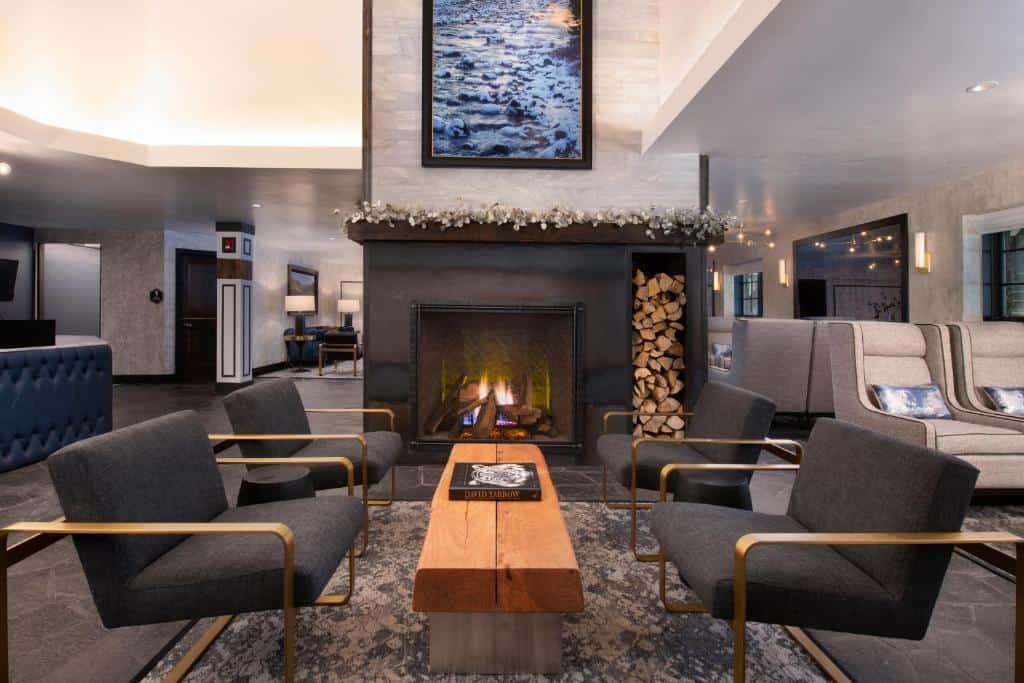 Best hotels beaver creek gravity haus lobby