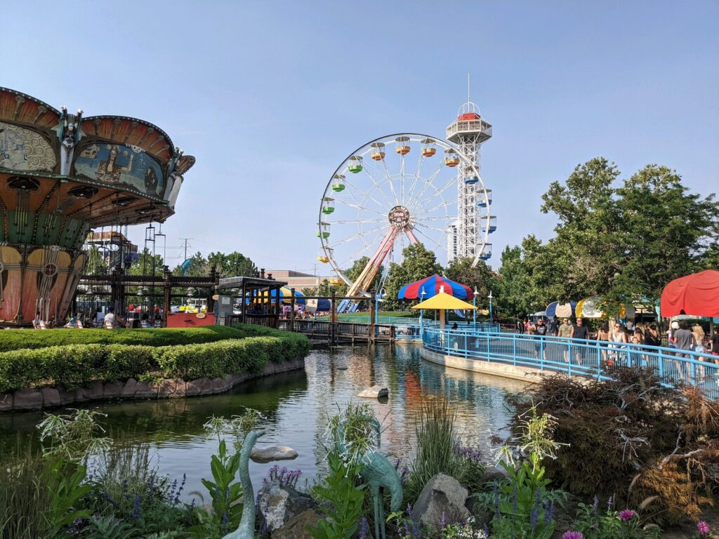 Things to do in Denver elitch gardens theme park