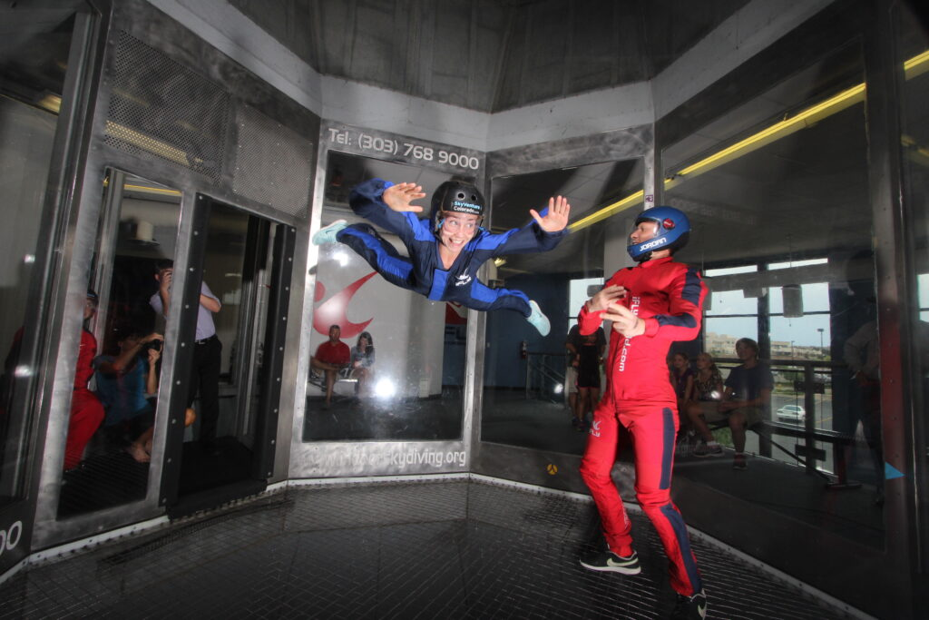 Things to do in Denver indoor skydiving
