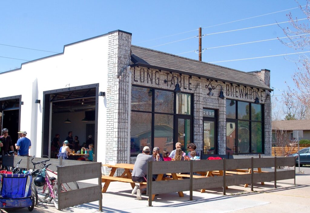 Things to do in Denver long table brewhouse