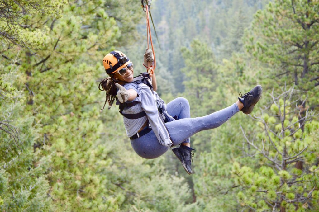 Things to do in Denver zip lining