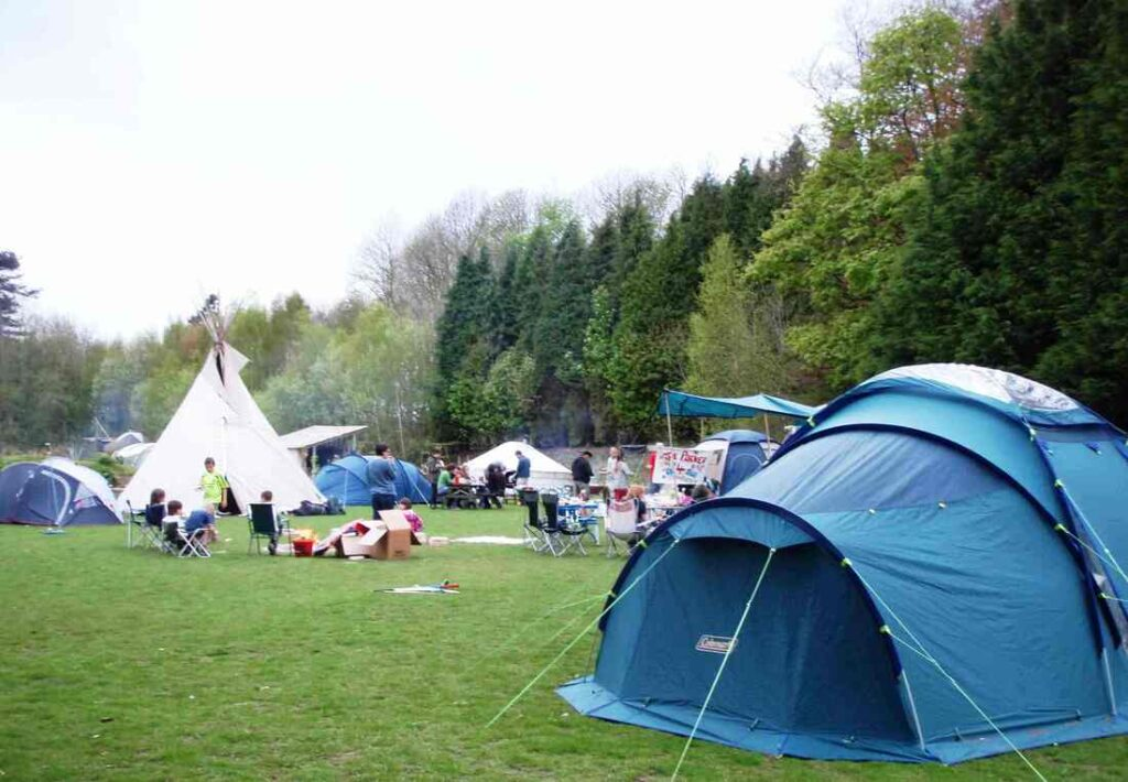 best camping portsmouth The Sustainability Centre Camping
