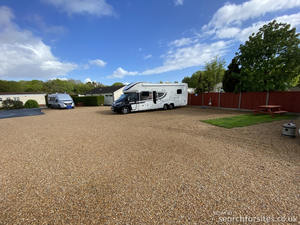 best camping southampton Dibles Park Camping site