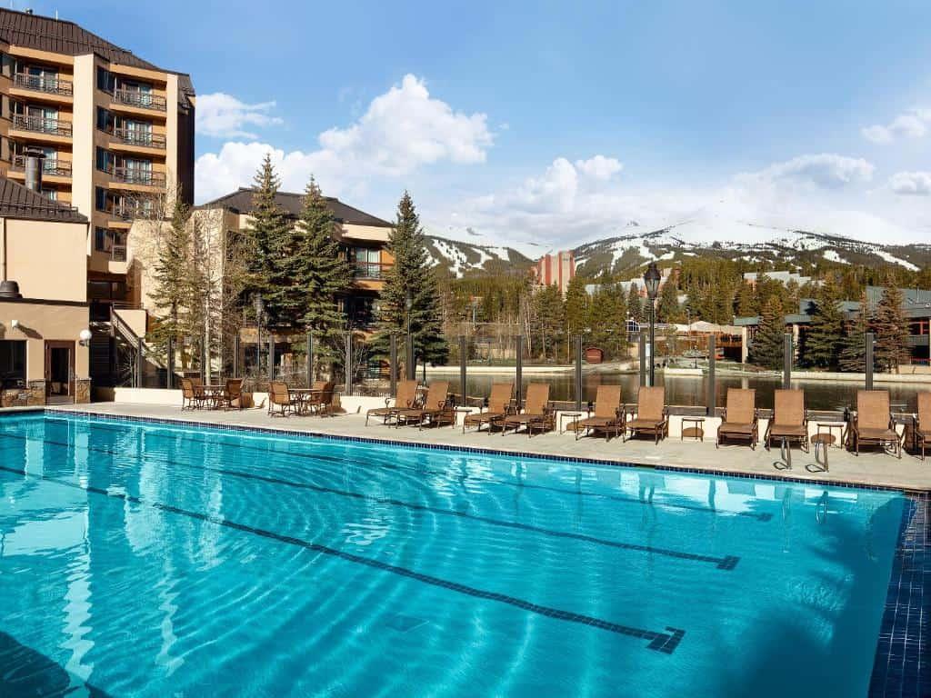 best hotels in Breckenridge Marriott's Mountain Valley Lodge pool