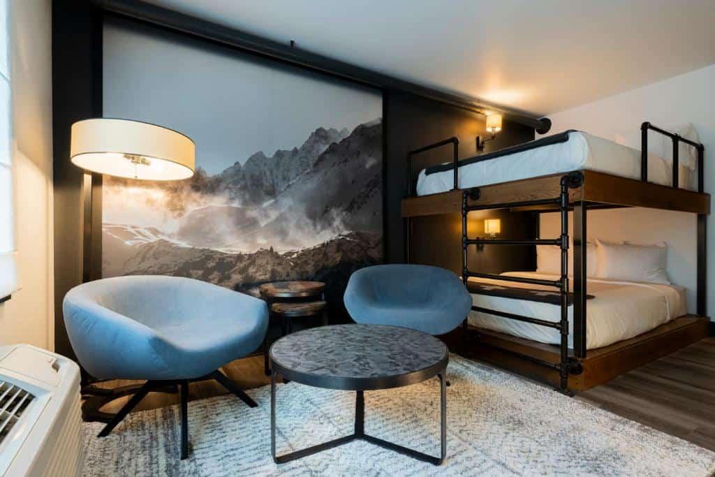 best hotels in Breckenridge gravity haus bedroom