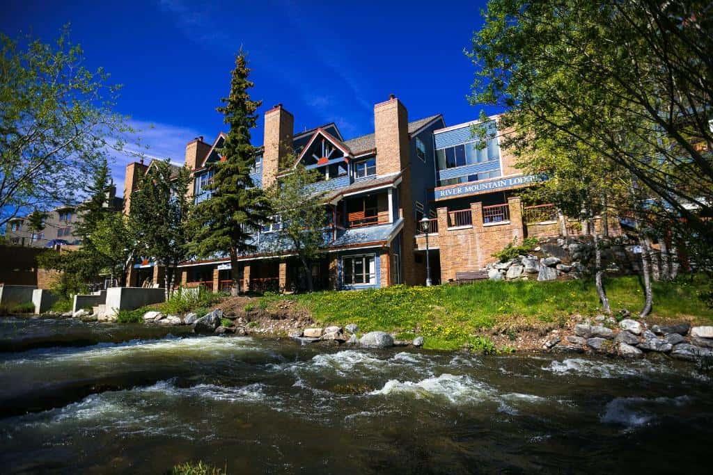 best hotels in Breckenridge river mountain lodge