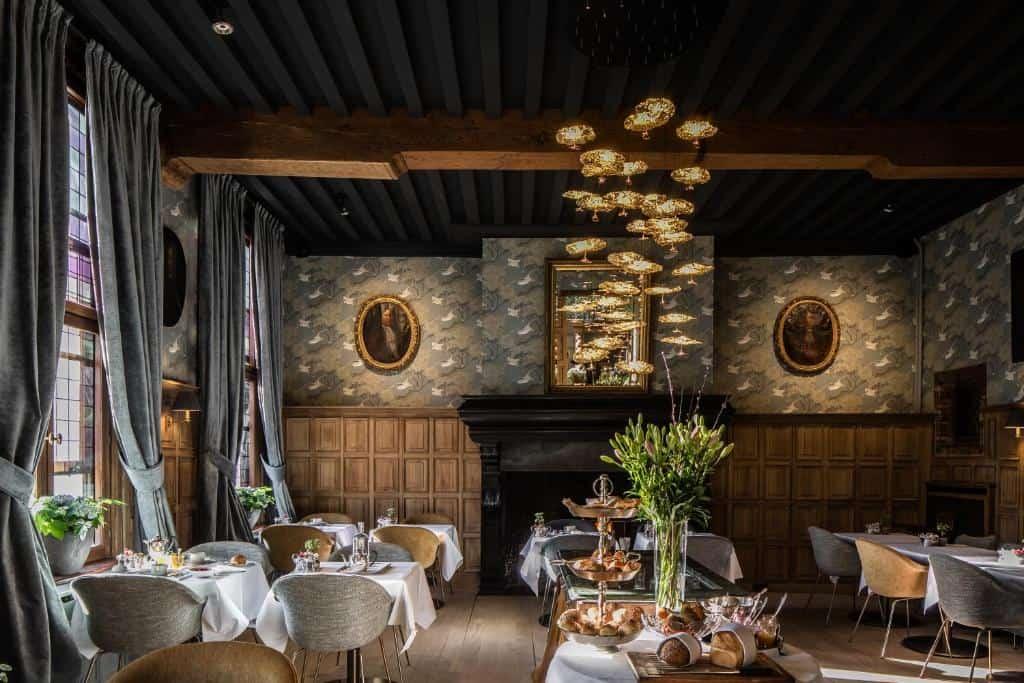 best hotels in Bruges Hotel De Orangerie food
