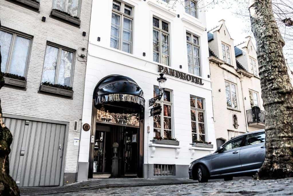 best hotels in Bruges Pandhotel