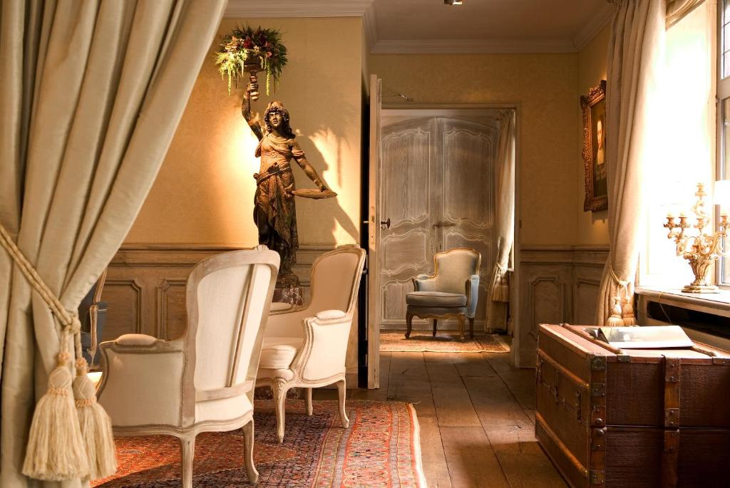 best hotels in Bruges Relais Bourgondisch Cruyce lobby