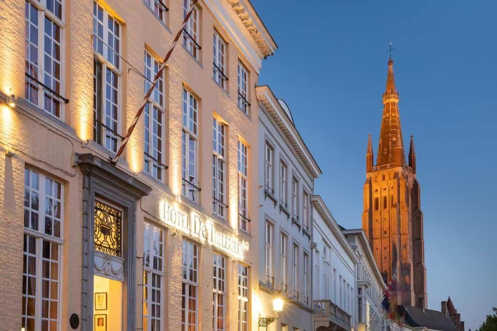 best hotels in Bruges de tuillerien