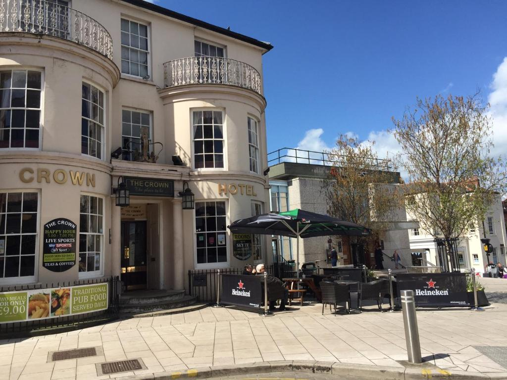 best hotels in Ryde the crown